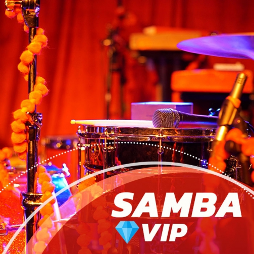 gravar música online - Samba VIP