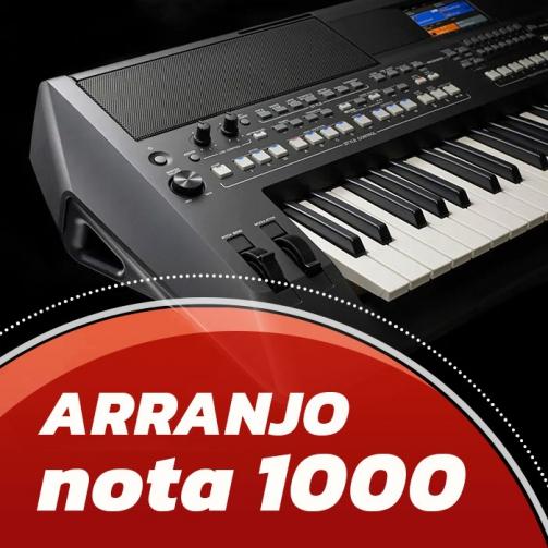 gravar música online - Arranjo Nota 1000