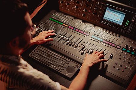 produção musical masterização